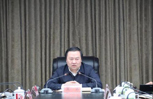 明水县组织收听收看庆祝改革开放四十周年大会盛况